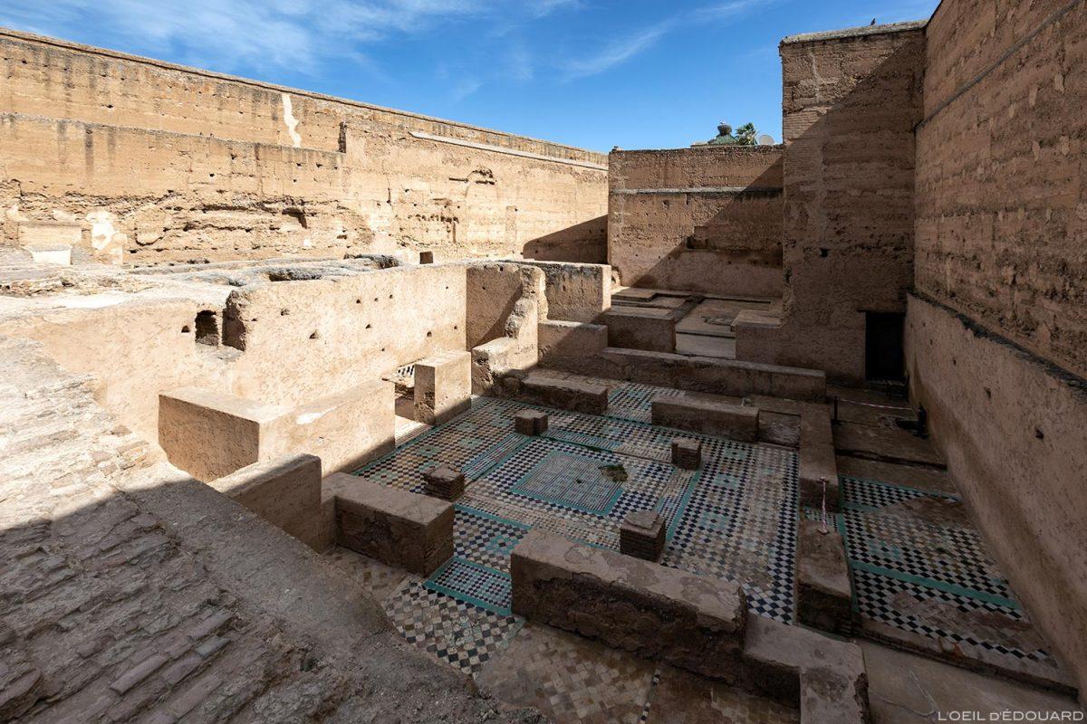 Ruines du Palais Badi à Marrakech, Maroc / Marrakesh Morocco
