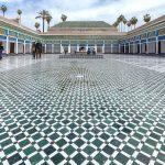 Cour intérieure du Palais Bahia de Marrakech, Maroc / Visit Marrakesh Morocco © L'Oeil d'Édouard - Tous droits réservés