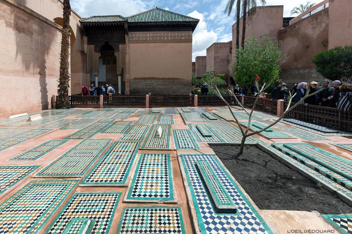 Les tombes Saadiennes à Marrakech, Maroc / Visit Marrakesh Morocco
