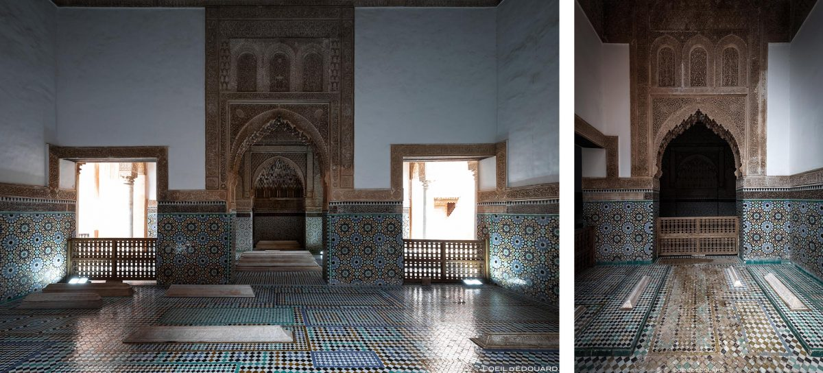 Tombeaux Saadiens à Marrakech, Maroc / Visit Marrakesh Morocco