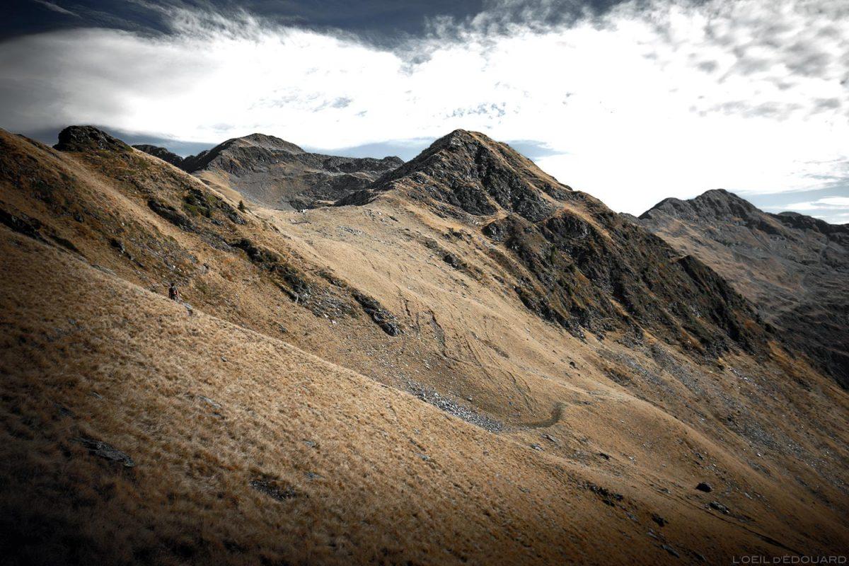 Itinéraire sentier de randonnée au Mont Mirantin - Pointe Saint-Jean, Massif du Beaufortain, Savoie