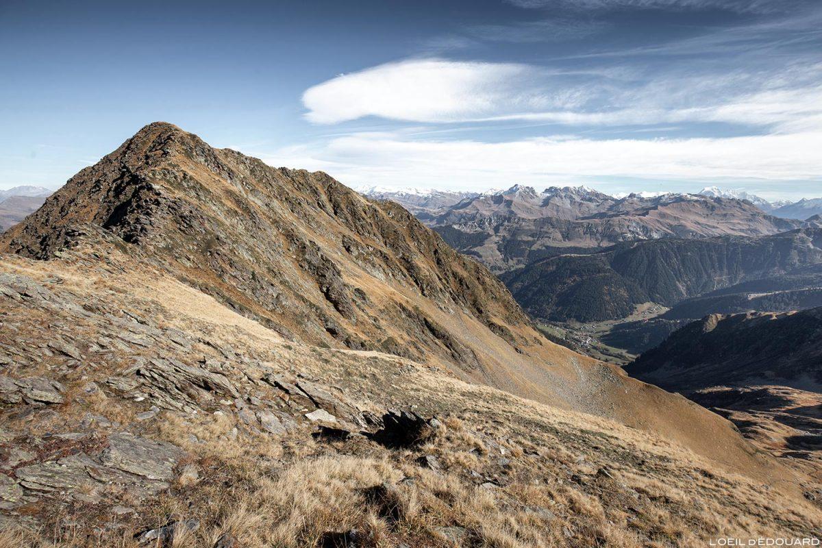 Sommet du Mont Mirantin, Massif du Beaufortain, Savoie