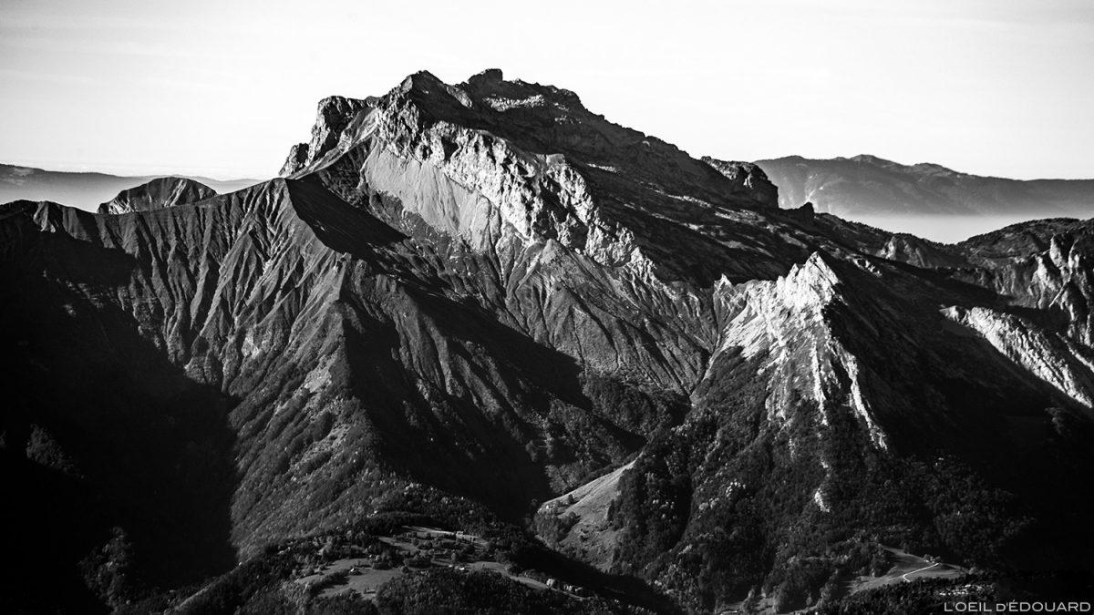 La Tournette, vue depuis le sommet du Mont Mirantin © L'Oeil d'Édouard - Tous droits réservés