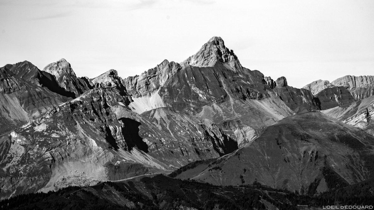 La Pointe Percée, vue depuis le sommet du Mont Mirantin © L'Oeil d'Édouard - Tous droits réservés