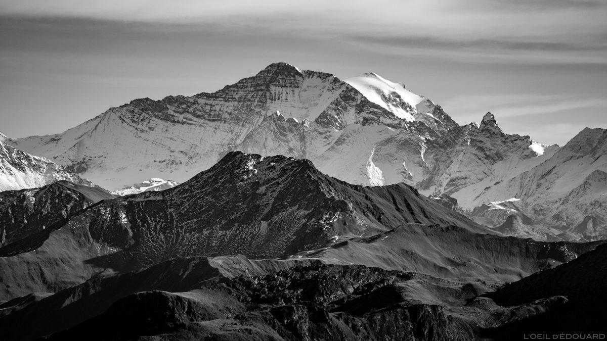 La Grande Casse, vue depuis le sommet du Mont Mirantin © L'Oeil d'Édouard - Tous droits réservés
