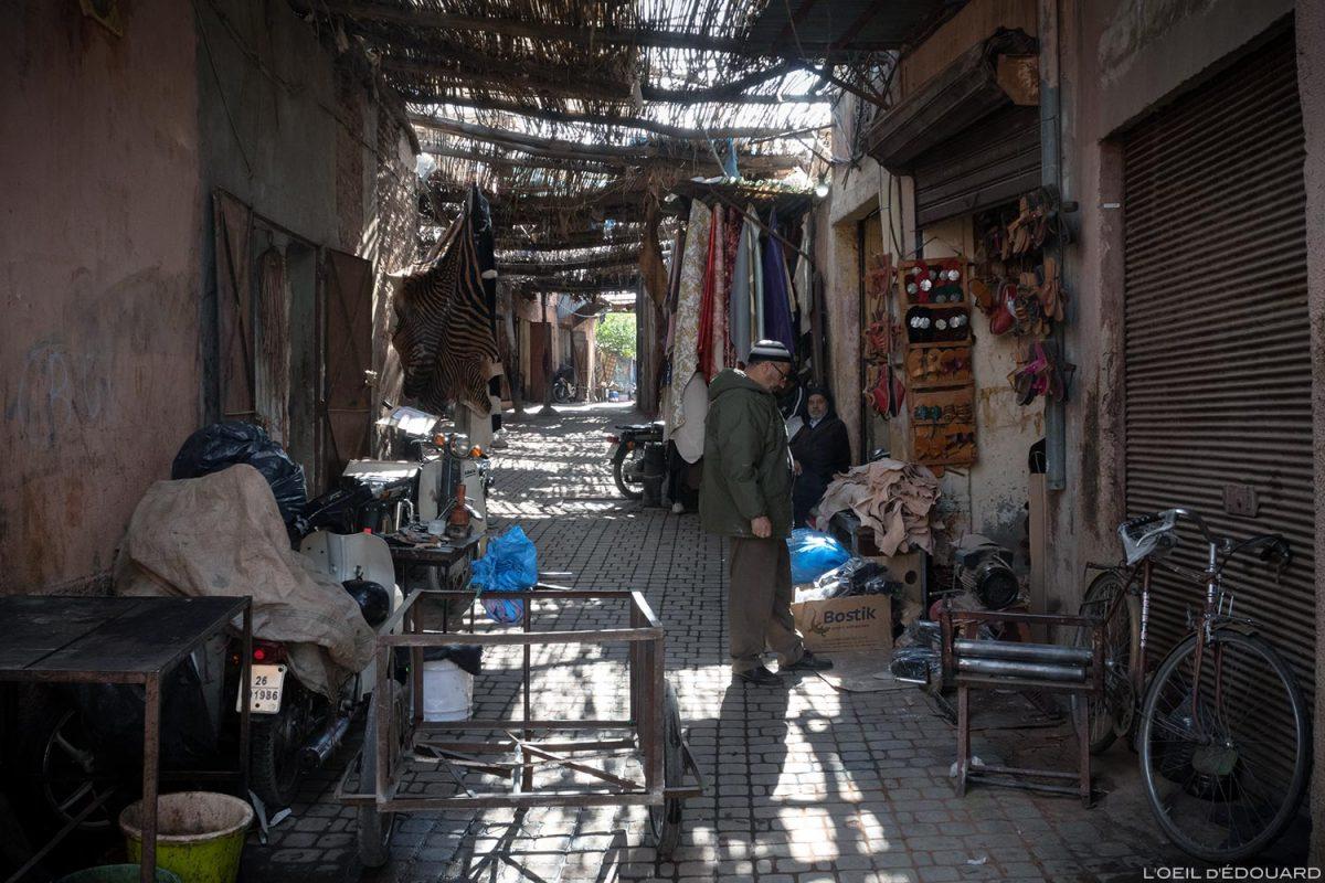 Médina Souk de Marrakech, Maroc / Marrakesh Morocco