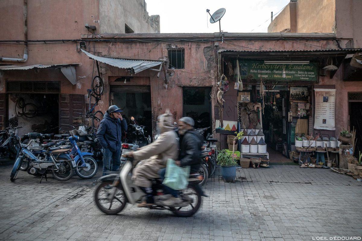 Boutique dans la Médina de Marrakech, Maroc / Marrakesh Morocco