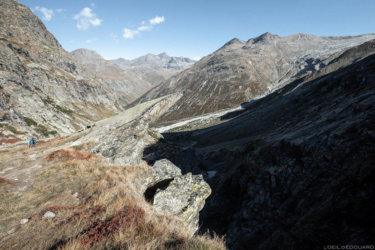 Gorge de la Reculaz : randonnée Cirque des Évettes - Alpes Grées, Haute-Maurienne, Savoie Alpes