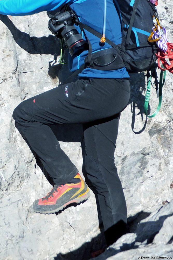 Test pantalon de randonnée CimAlp Explore H / trekking trouser review