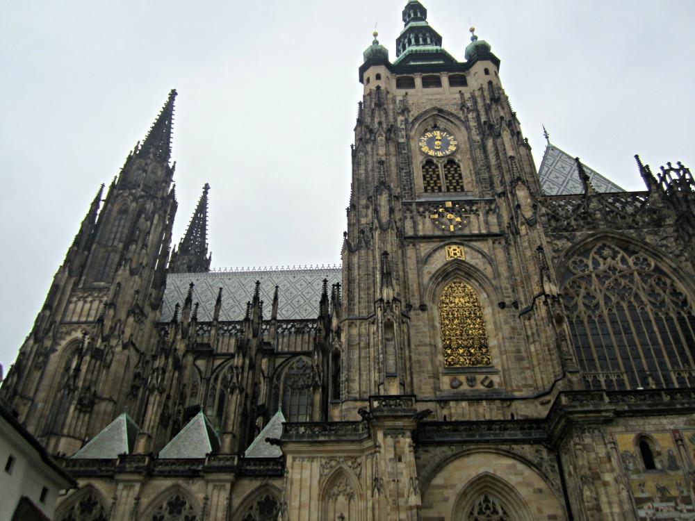 Cathédrale gothique de Prague