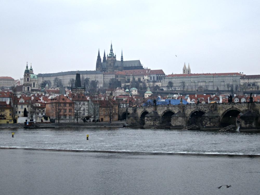 Le pont Charles sur la Vltava, Prague