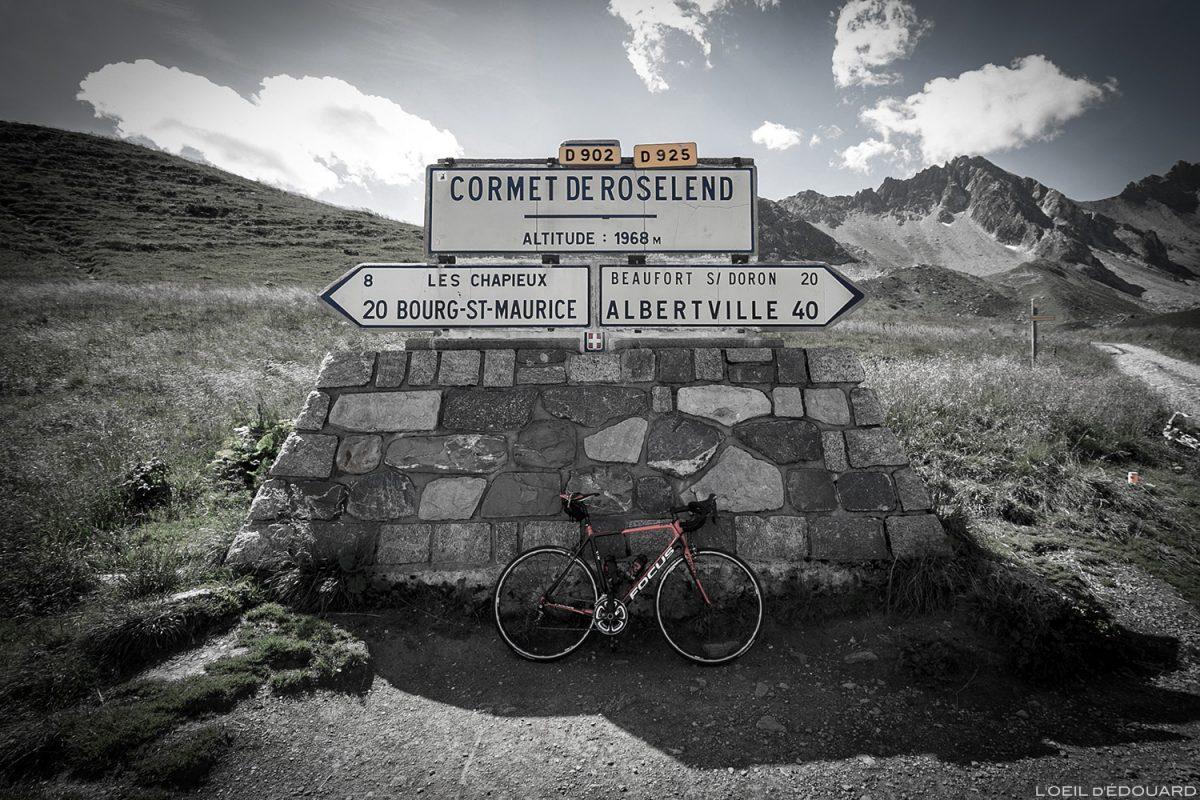 Le Cormet de Roselend en vélo, Le Beaufortain Savoie Alpes cyclisme