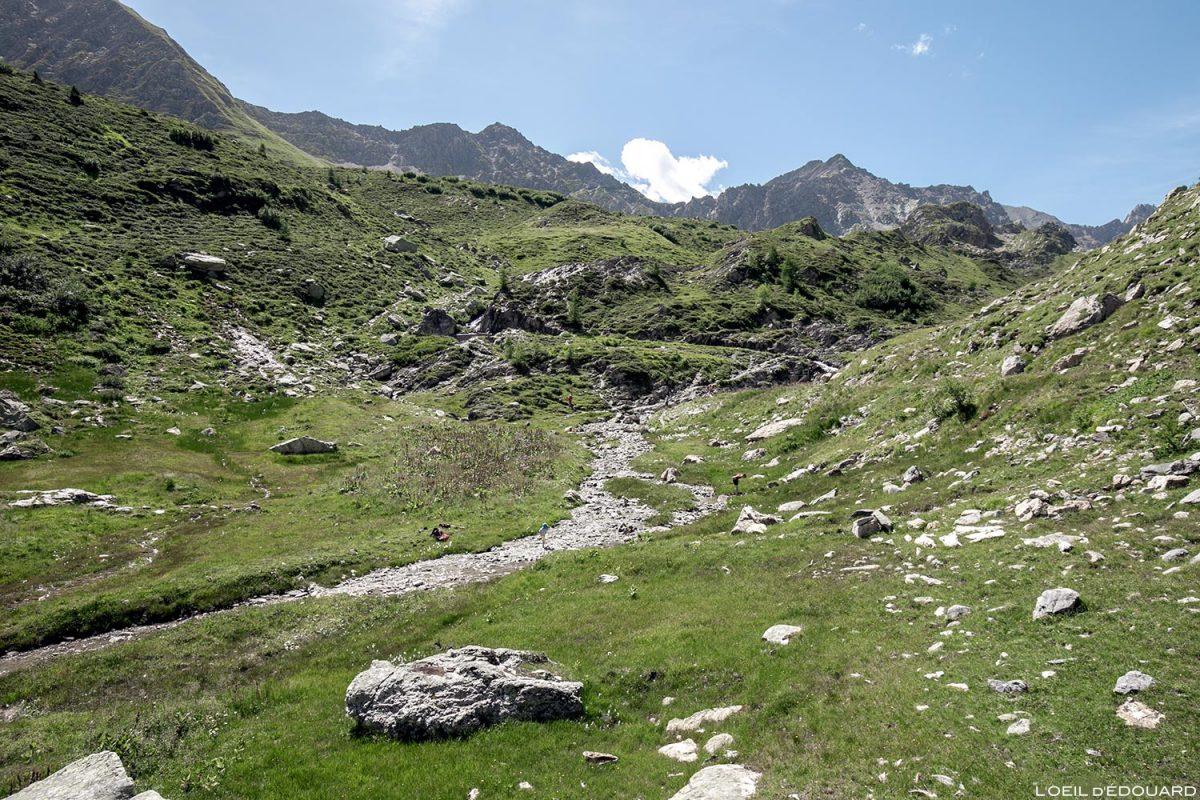 Ruisseau de la Neuva, Cormet de Roselend, Le Beaufortain Savoie Alpes
