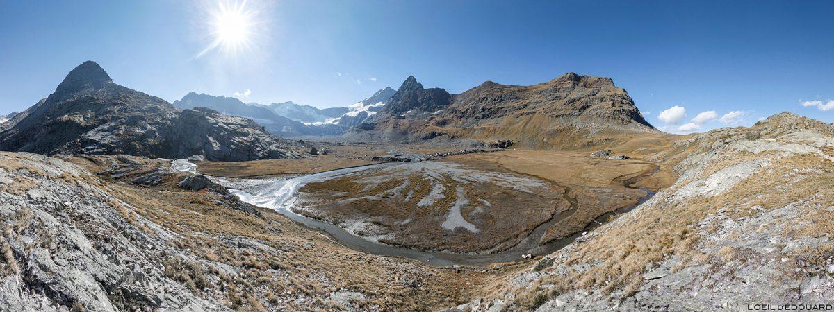 Le Cirque des Évettes à l'automne - Alpes Grées, Haute-Maurienne, Savoie Alpes © L'Oeil d'Édouard - Tous droits réservés
