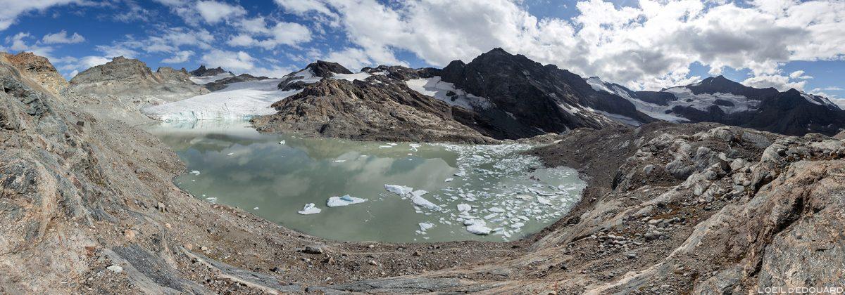 Le Lac du Grand Méan, au-dessus du Cirque des Évettes - Alpes Grées, Haute-Maurienne, Savoie Alpes © L'Oeil d'Édouard - Tous droits réservés