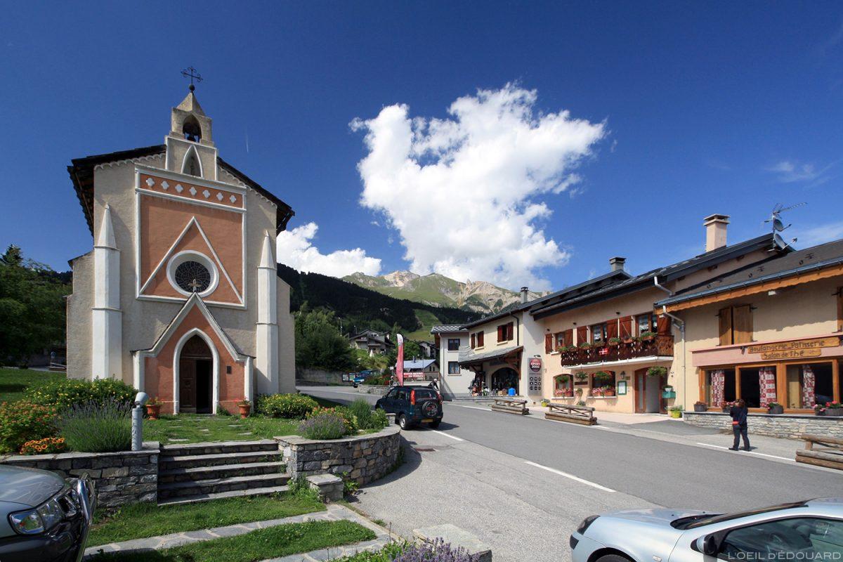 Chapelle Notre-Dame de la Salette à Aussois, Haute Maurienne Savoie Alpes