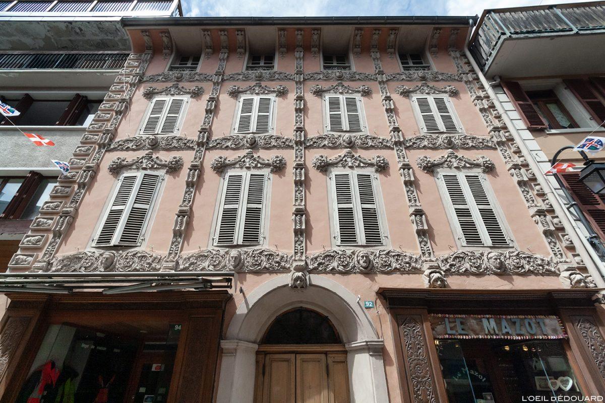 Maison des Têtes, 92 Grande Rue, Bourg-Saint-Maurice - Haute-Tarentaise Savoie Alpes