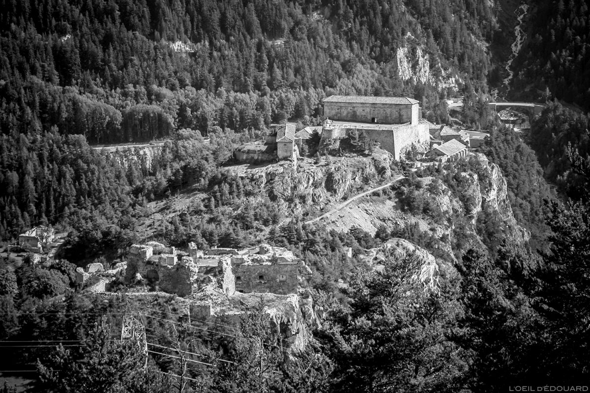 Le Fort Victor-Emmanuel, Forts de l'Esseillon à Aussois, Haute Maurienne Savoie Alpes