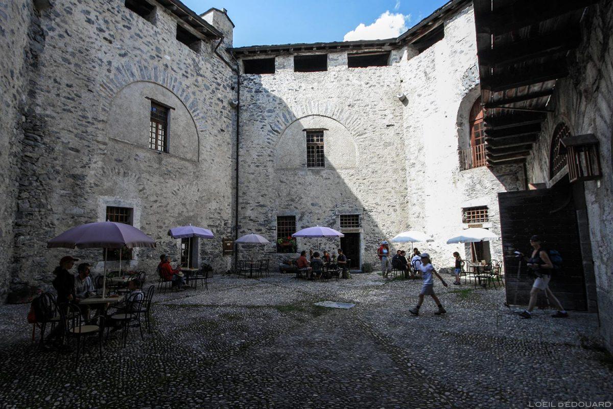 Le Fort Marie-Christine, Forts de l'Esseillon à Aussois, Haute Maurienne Savoie Alpes