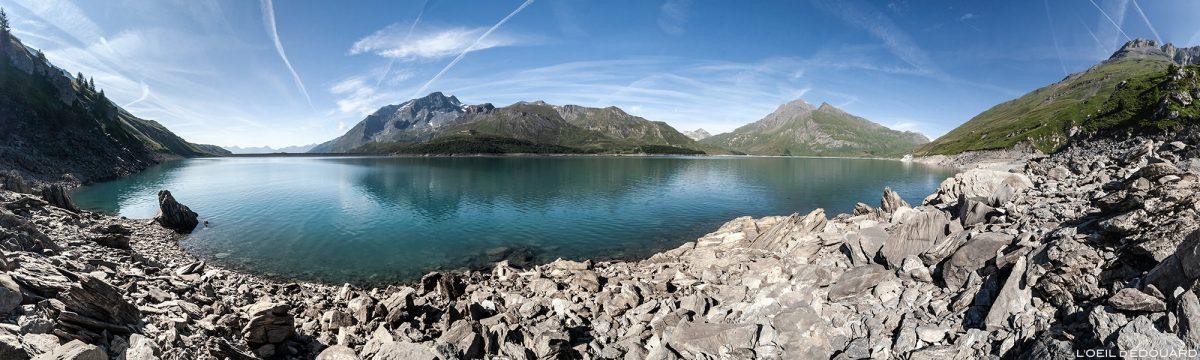 Lac du Mont Cenis - Haute Maurienne Savoie Alpes