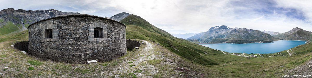 Le Fort de Ronce au-dessus du Col et du Lac du Mont-Cenis - Haute Maurienne Savoie Alpes
