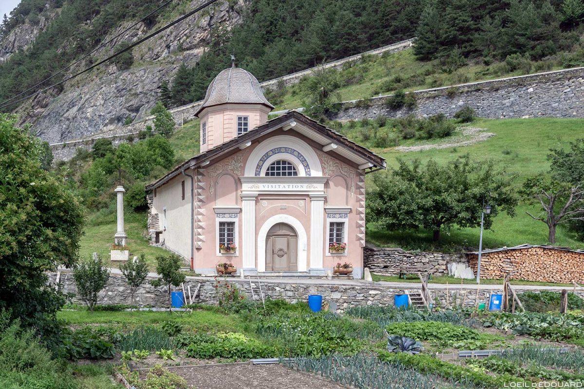 La chapelle Notre-Dame de la Visitation de Termignon - Haute Maurienne Savoie Alpes