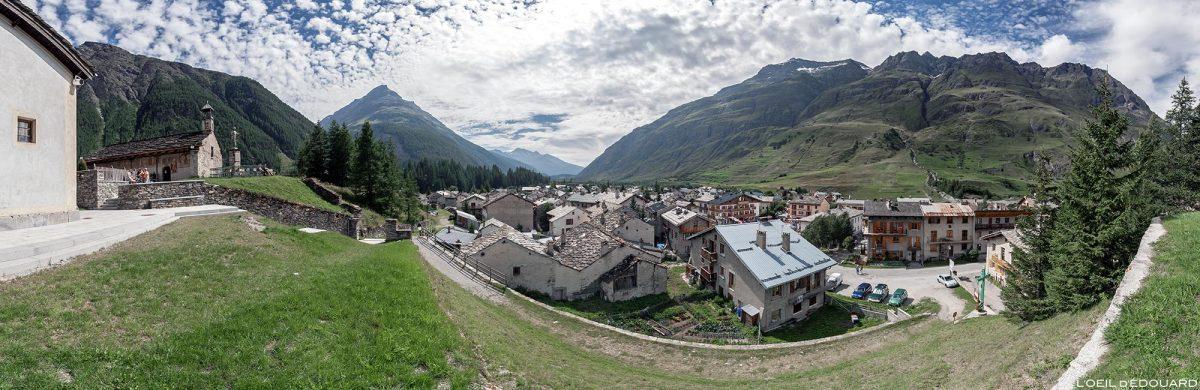 Le village de Bessans - Haute Maurienne Savoie Alpes
