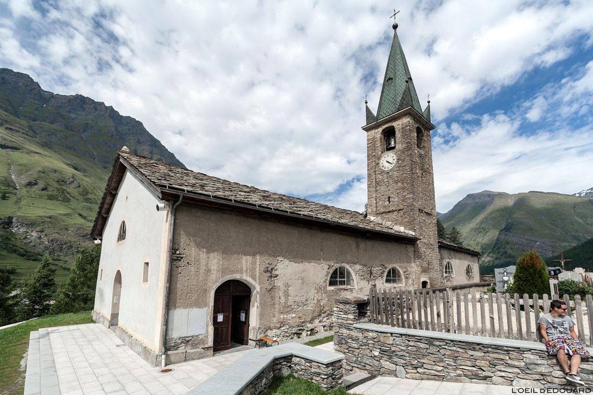 Église Saint-Pierre à Bessans - Haute Maurienne Savoie Alpes