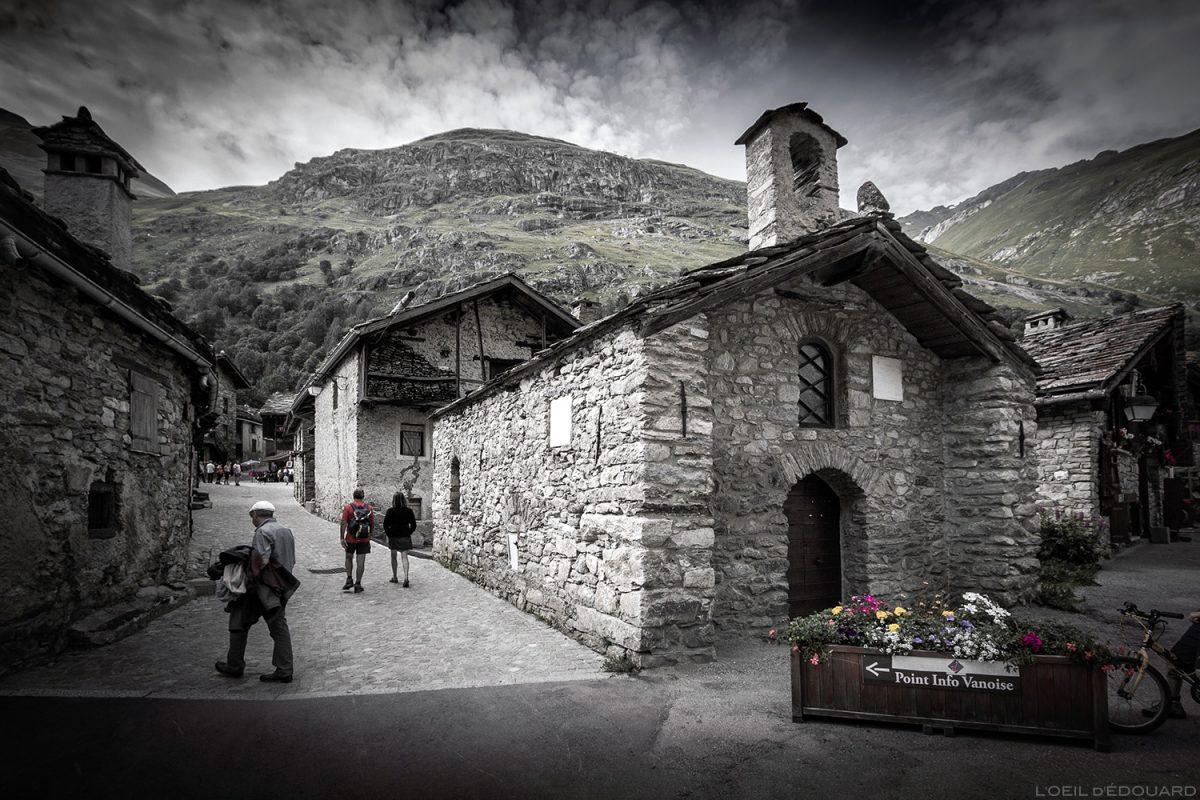 Chapelle du village de Bonneval-sur-Arc - Haute-Maurienne Savoie Alpes