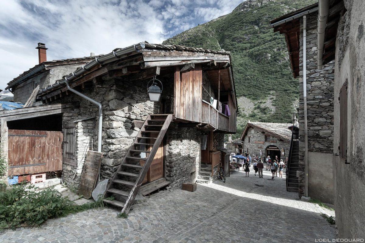 Maison dans le village de Bonneval-sur-Arc - Haute-Maurienne Savoie Alpes