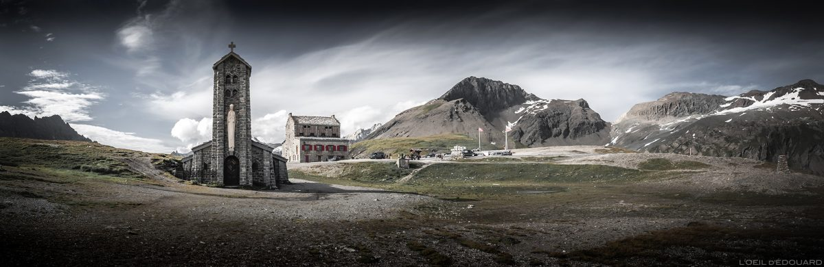 La Chapelle Notre-Dame de Toute-Prudence au Col de l'Iseran, Savoie Alpes © L'Oeil d'Édouard - Tous droits réservés