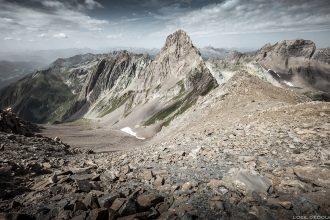 Trek dans le Beaufortain : Le Col de la Nova et l'Aiguille de la Nova / Savoie Paysage Montagne Alpes Mountain Landscape Outdoor © L'Oeil d'Édouard - Tous droits réservés