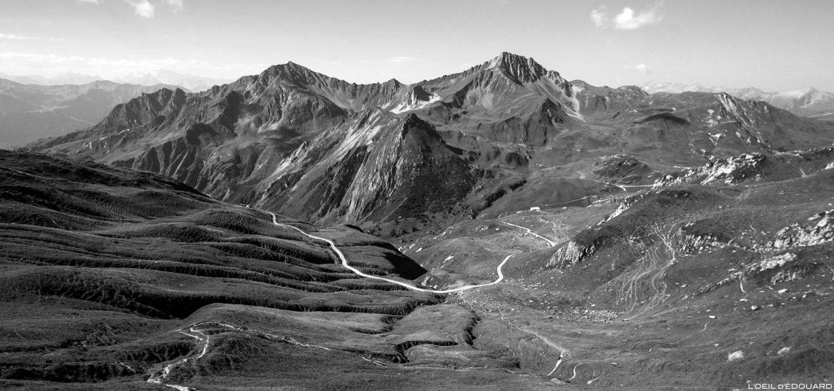 Le Cormet d'Arêches et le Crêt du Rey depuis le Col du Coin, Le Beaufortain Savoie Paysage Montagne Alpes