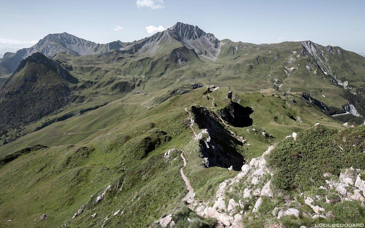 La Croix du Berger et le Crêt du Rey, Le Beaufortain Savoie Paysage Montagne Alpes