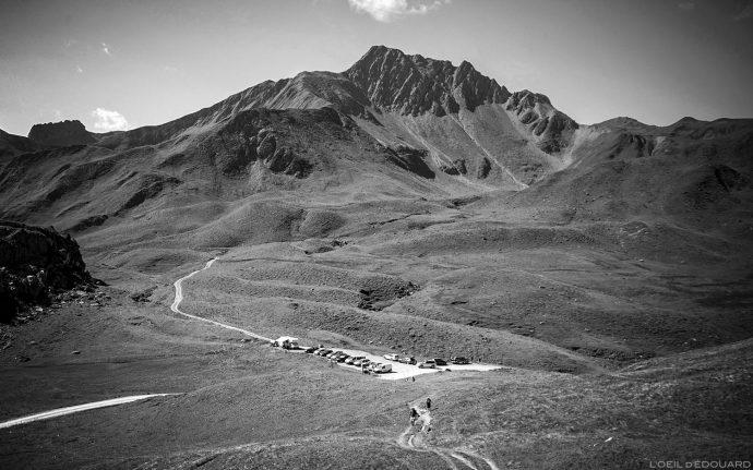 Le Cormet d'Arêches avec le Crêt du Rey et la Pointe de Combe Bénite, Le Beaufortain Savoie Paysage Montagne Alpes