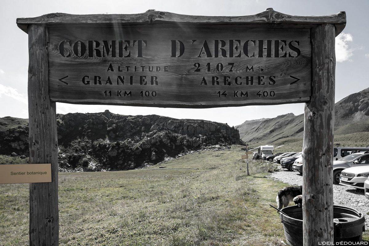 Le Cormet d'Arêches (2107 mètres d'altitude), Le Beaufortain Savoie Paysage Montagne Alpes