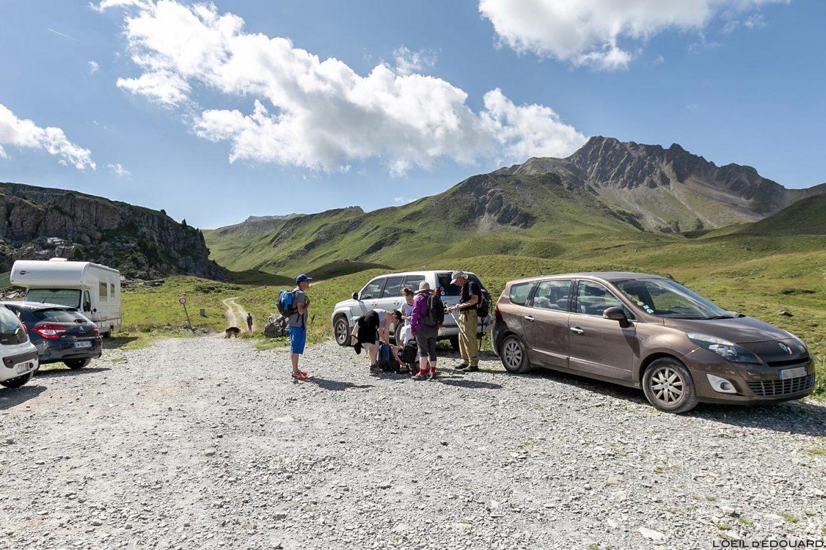 Parking du Cormet d'Arêches, Le Beaufortain Savoie Paysage Montagne Alpes