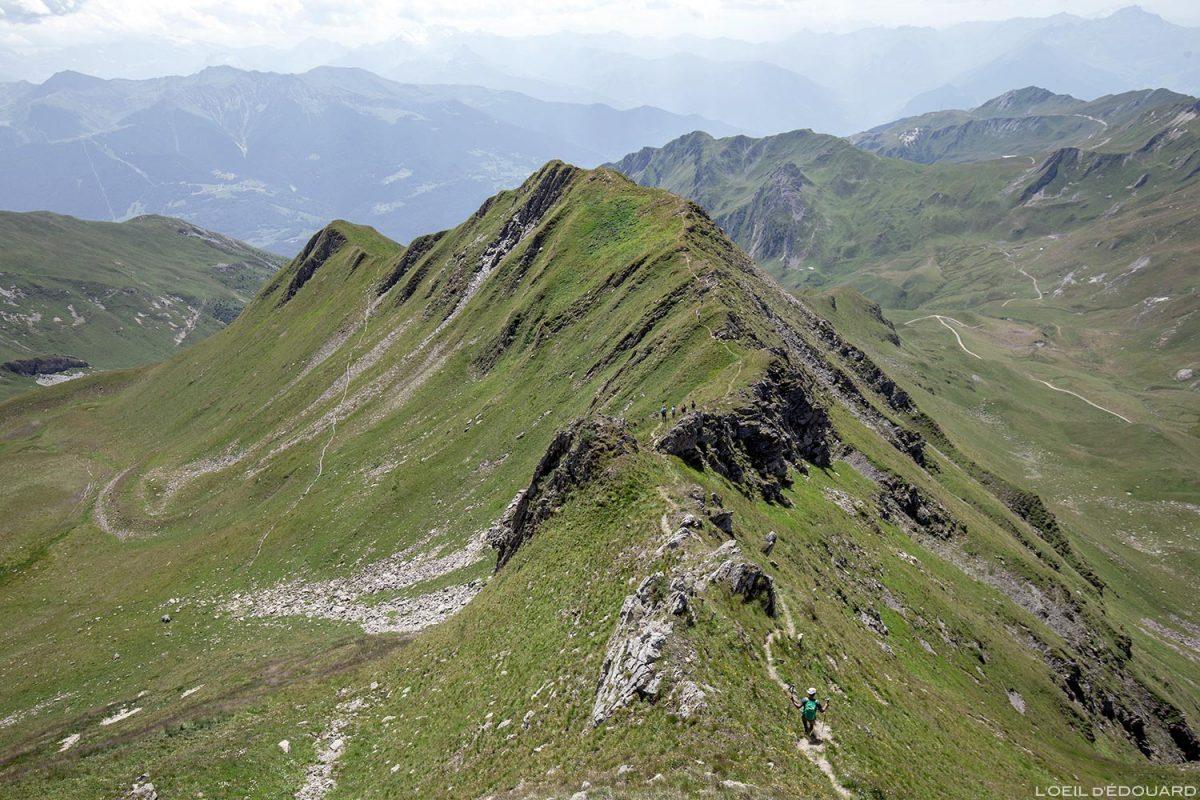 L'arête Sud du Crêt du Rey, Le Beaufortain Savoie Paysage Montagne Alpes