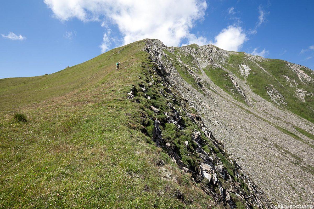 Randonnée le Crêt du Rey, Le Beaufortain Savoie Paysage Montagne Alpes