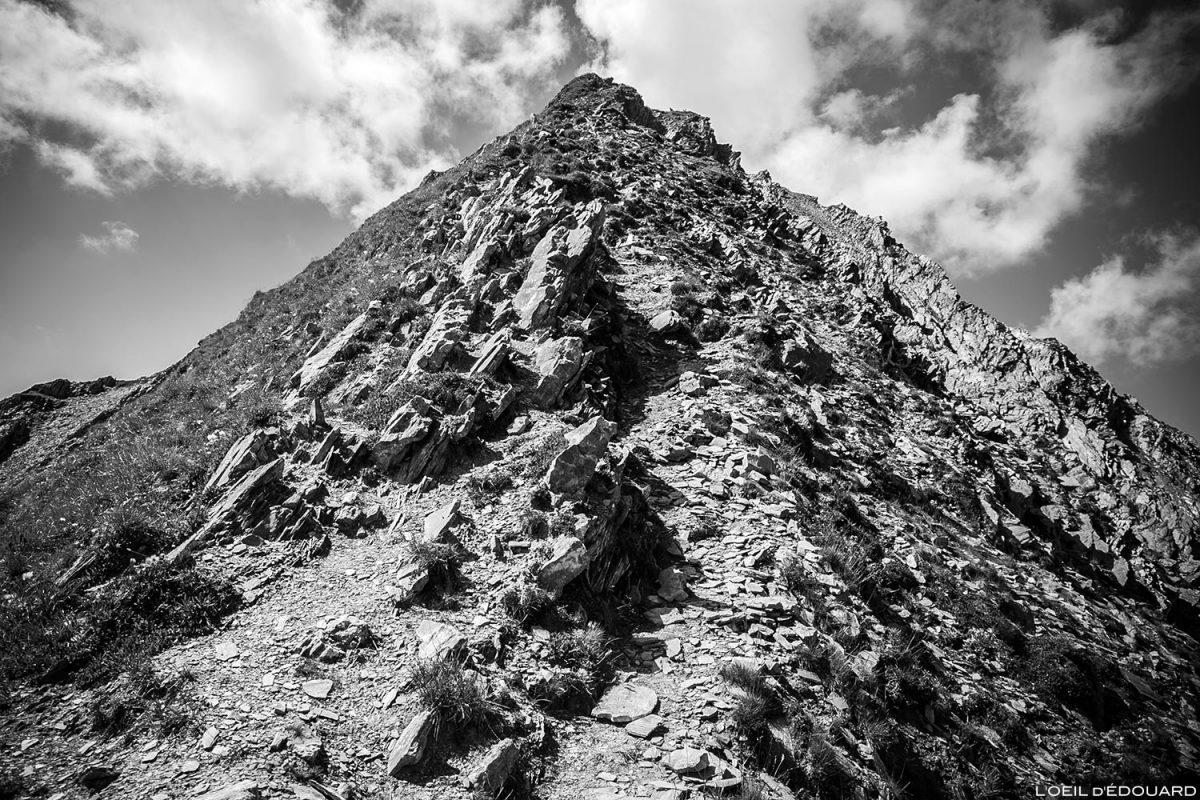 L'arête Nord-Est du Crêt du Rey, Le Beaufortain Savoie Paysage Montagne Alpes