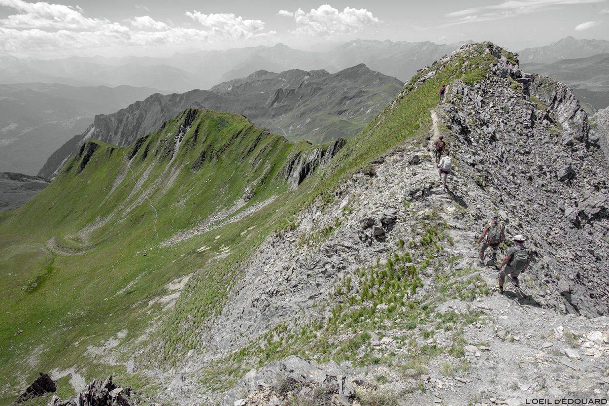 L'arête Sud-Ouest du Crêt du Rey, Le Beaufortain Savoie Paysage Montagne Alpes