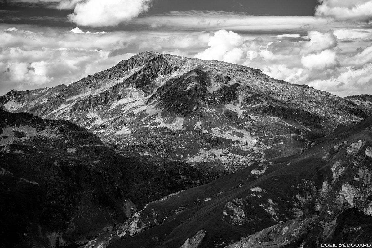 Le Grand Mont depuis le sommet de la Pointe de Dzonfié - Le Beaufortain Savoie Paysage Montagne Alpes © L'Oeil d'Édouard - Tous droits réservés