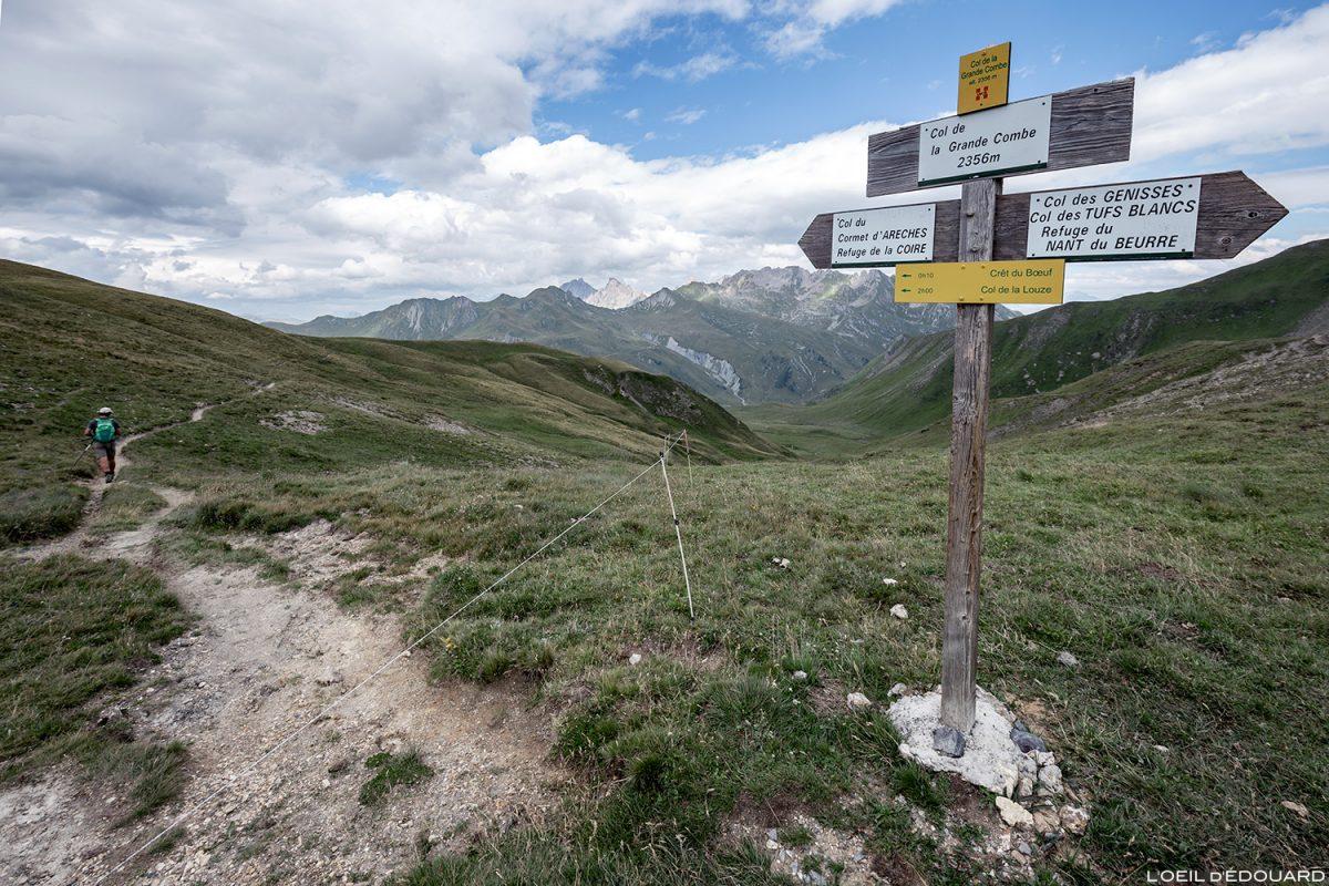 Le Col de la Grande Combe, Le Beaufortain Savoie Paysage Montagne Alpes