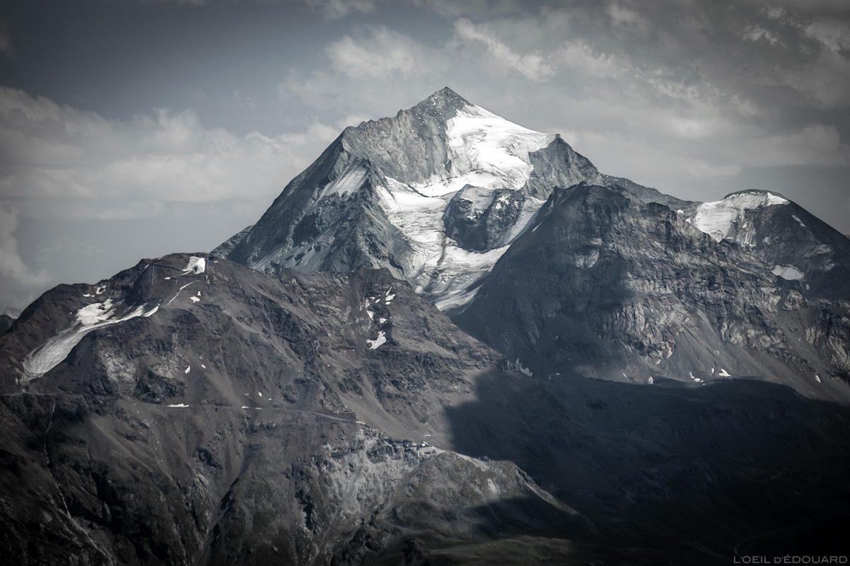 Le Mont Pourri depuis le sommet de La Pointe de la Terrasse, Le Beaufortain Savoie Paysage Montagne Alpes © L'Oeil d'Édouard - Tous droits réservés