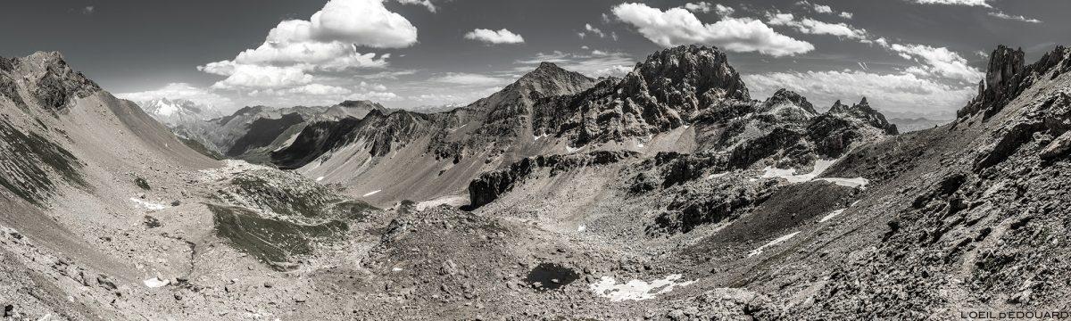 La Combe de la Neuva, l'Aiguille de la Nova au Col du Grand Fond, Le Beaufortain Savoie Paysage Montagne Alpes © L'Oeil d'Édouard - Tous droits réservés