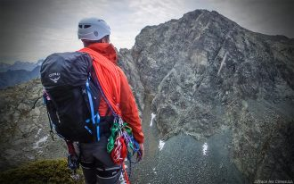 Test sac à dos alpinisme Osprey Mutant 38 backpack review mountain