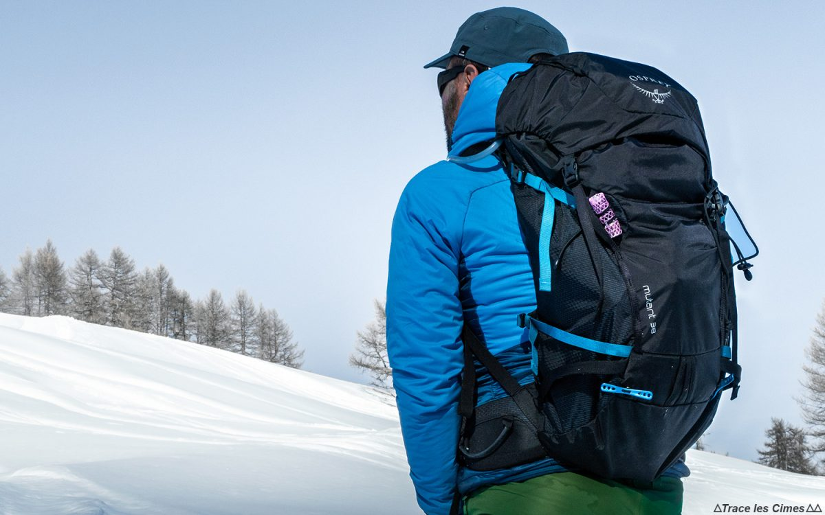 Test sac à dos alpinisme ski de randonnée Osprey Mutant 38 backpack review