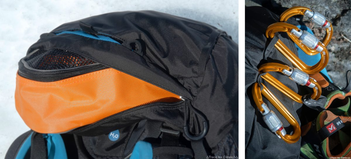 Capuchon Test sac à dos alpinisme ski de randonnée Osprey Mutant 38 backpack review