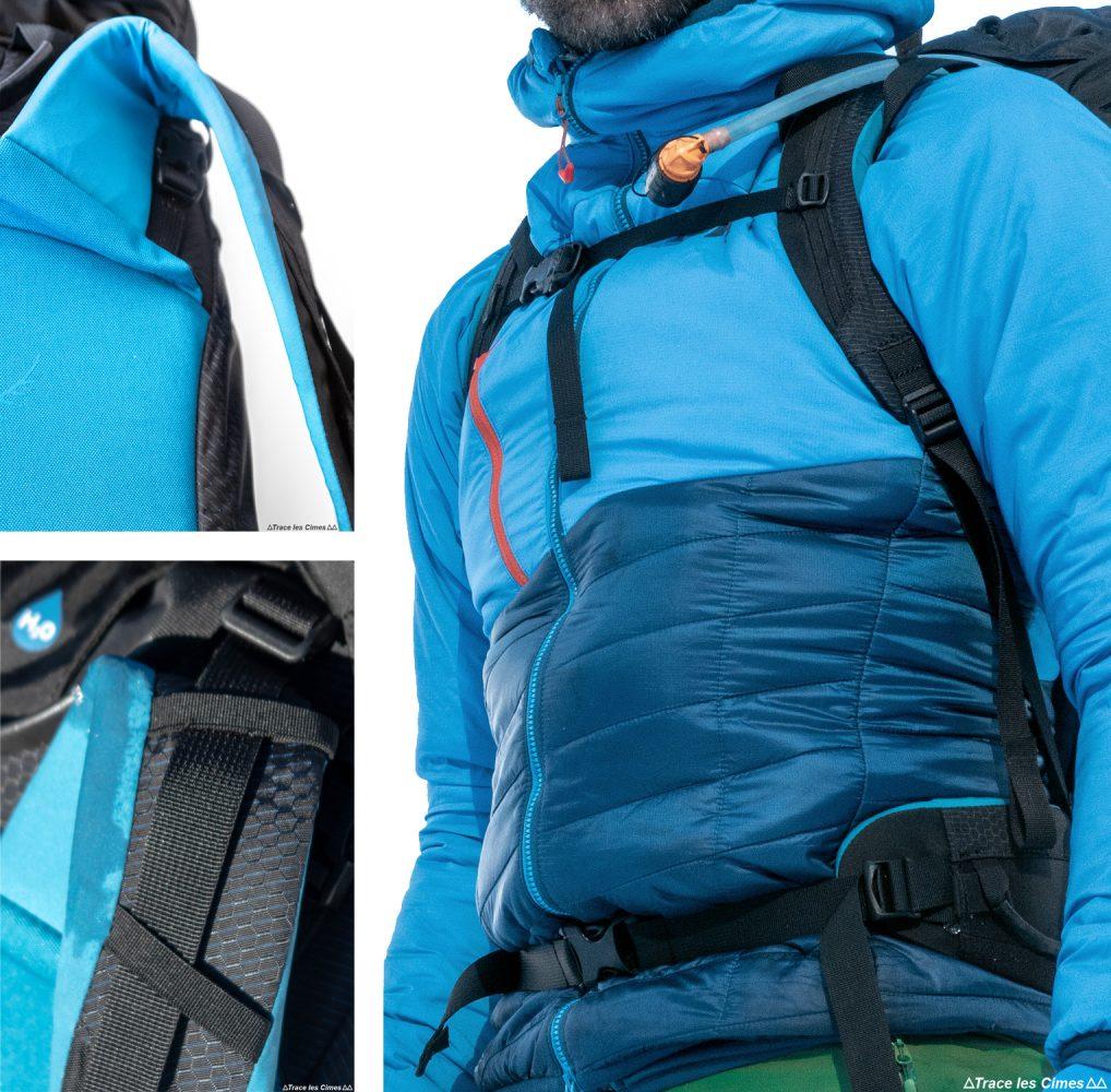 Test sac à dos alpinisme ski de randonnée Osprey Mutant 38 backpack review