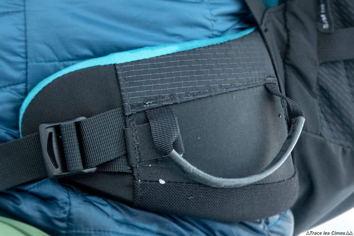 ceinture porte-matériel Test sac à dos alpinisme ski de randonnée Osprey Mutant 38 backpack review